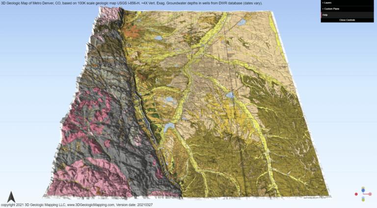 3D Geologic Map of Denver